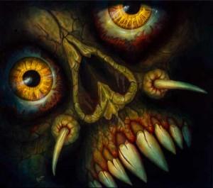 Dämonisches Detail