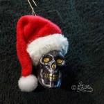 Weihnachtsmann_Christbaumhänger (Mixed Media)