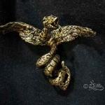 Halskettenanhänger (Polymer Clay Skulptur_9cm)