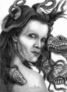 Medusa (Bleistift)
