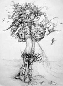 Natural-Girl (Kugelschreiber)