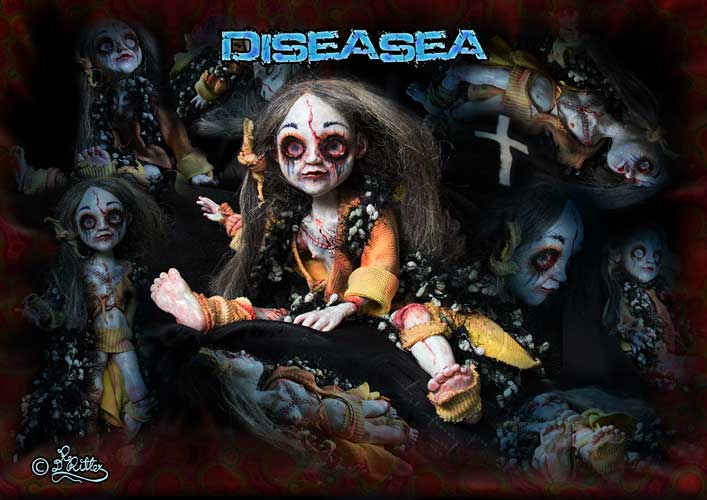 Diseasea-Poster (Ball joined doll, 40cm)