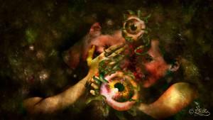 Von Auge zu Auge (Digital Art)