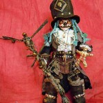 Voodoo Geist Papa Legba (Mixed Media_37cm hoch inkl.Hut)
