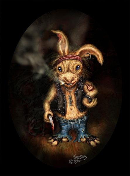 Rocker Rabbit