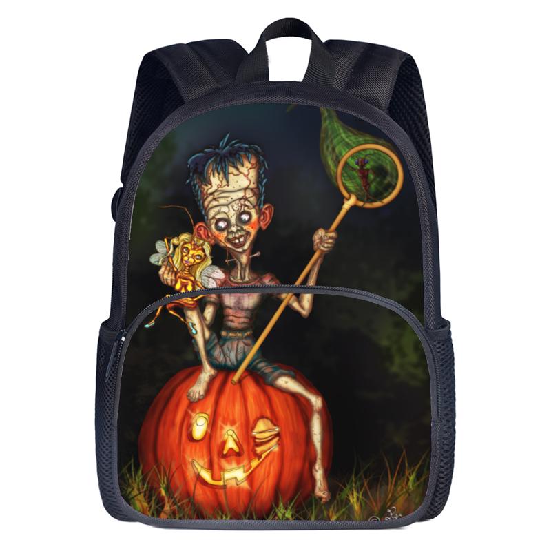 Halloeen school backpack