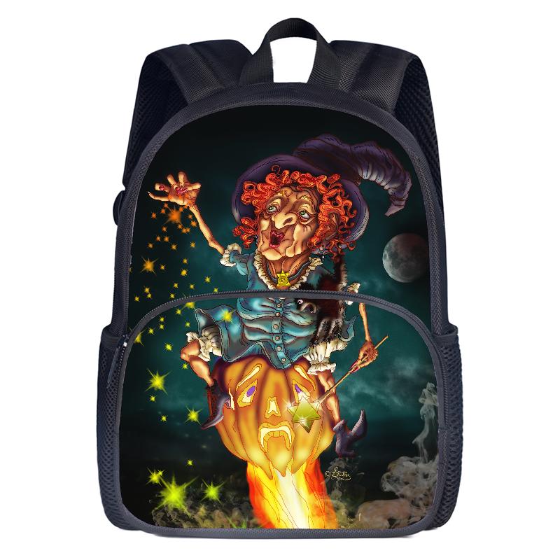 Halloween school backpack
