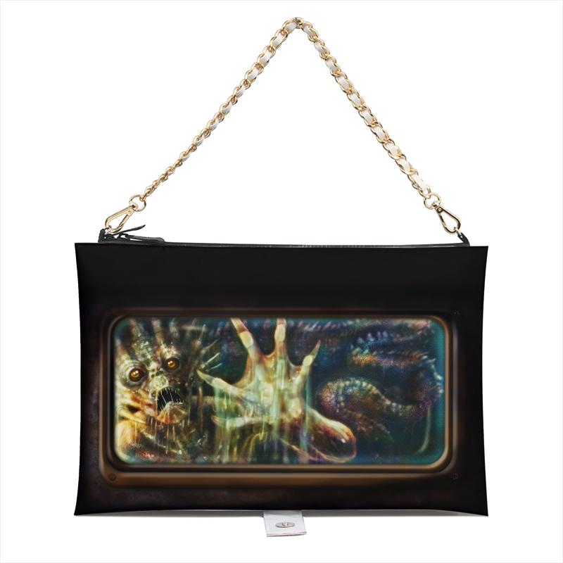 Monster hand bag