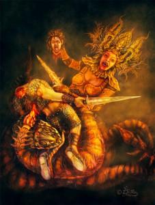 Skorpion Hexe