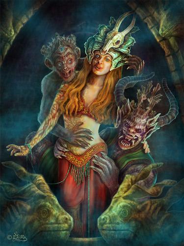 Dämonische Begierde