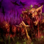 Entfesselte Kürbis Zombies