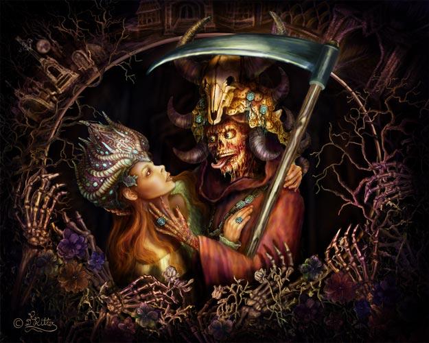 Grim Reaper verliebt
